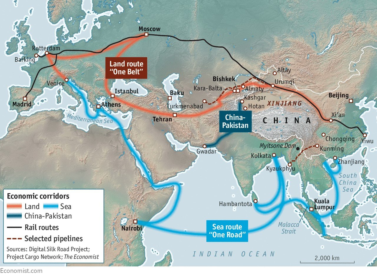Belt and road initiative  china pakistan economic corridor cpec