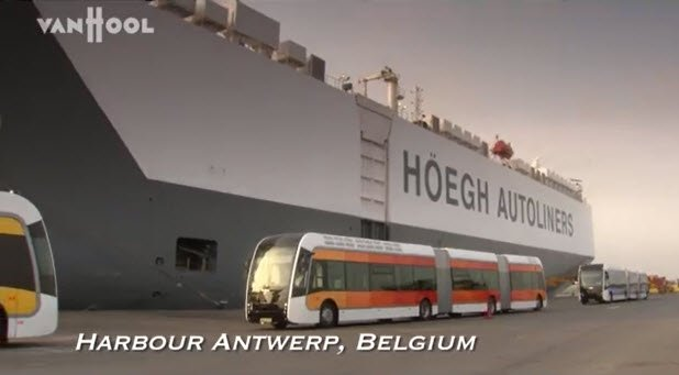van hool buses on youtube